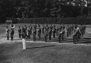 Early ROTC band - precursor to concert and football band