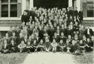 Class of 1920 in 1917