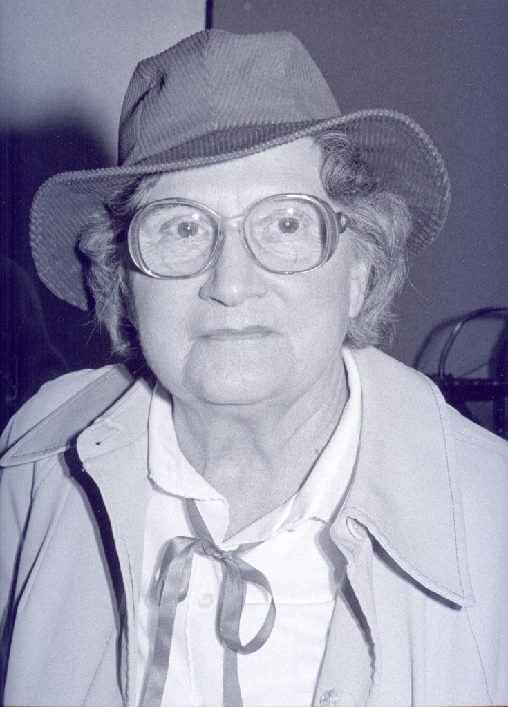 Daisy Whittle's Senior Center portrait, taken by Frank Bliss.