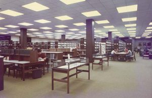 Little Library main floor circa 1974