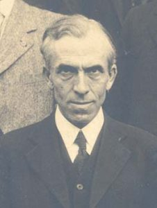 Mark Sentelle in 1922