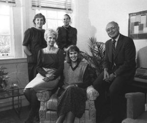 Dean of Students Office -deans and administrative assistants, c1983