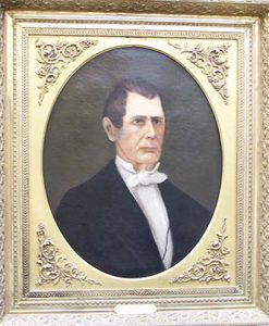 Davidson's first president as painted by his daughter.