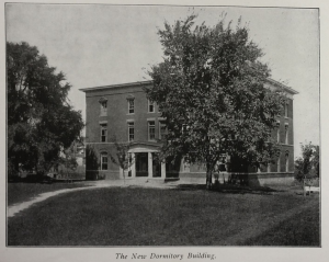 1903 Souvenir Album, The New Dormitory Building