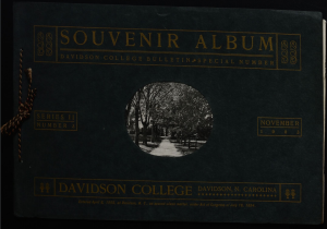 1903 Souvenir Album cover