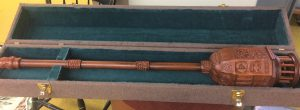 Full length Mace in its protective case