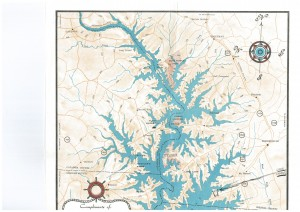 Map of Lake Norman area